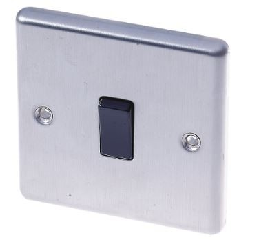 Light Switch - Stainless Steel