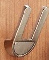 Stainless Steel Double Coat Hook