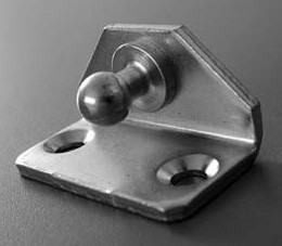 Angled Attachment Plate - 2 Hole Square Base