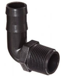 BSP Taper Threaded Hose Barb Elbow Connector