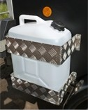 Water Container Kit - Fits to side of Trailer