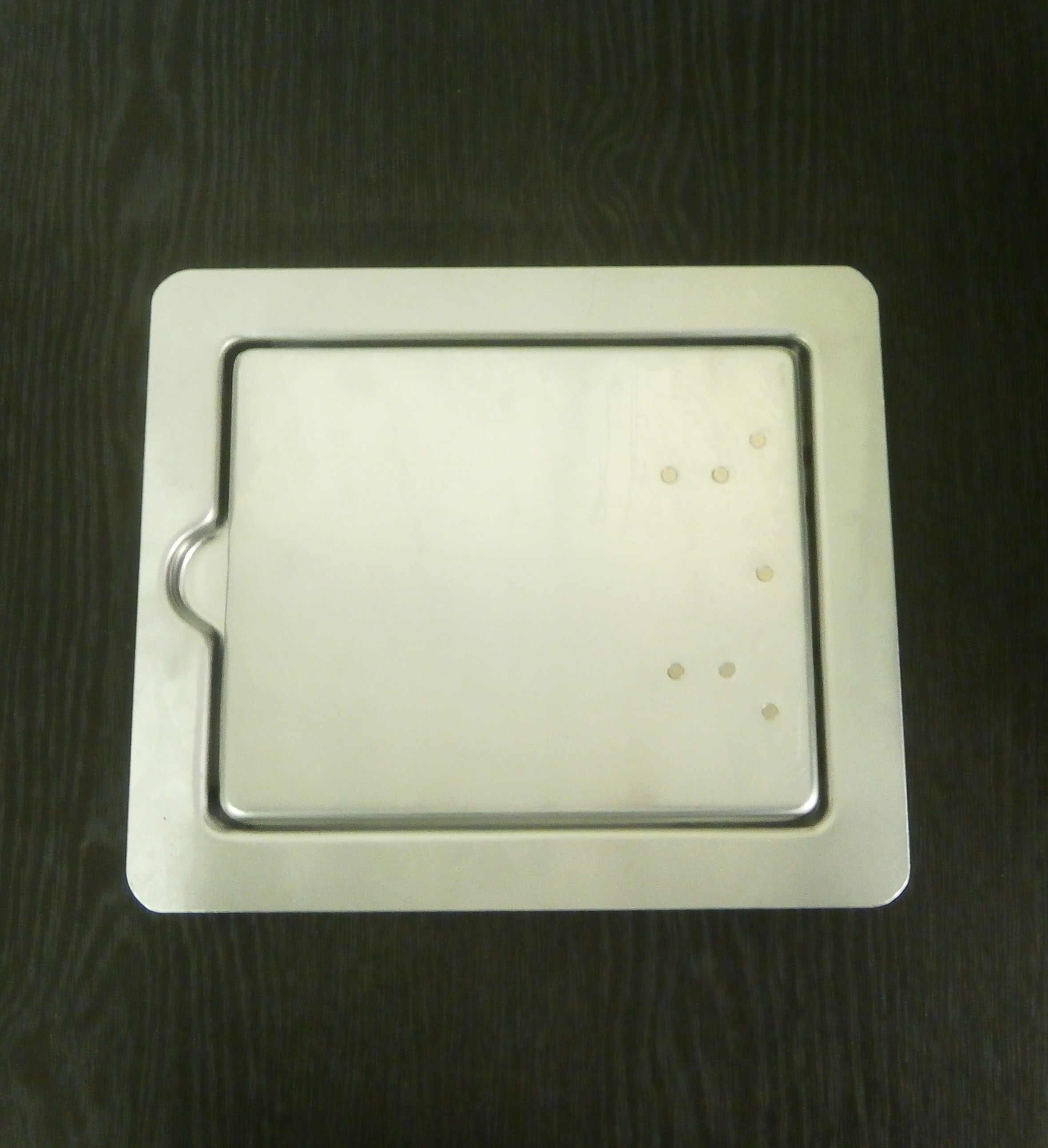 Fuel Filler Flap - Aluminium
