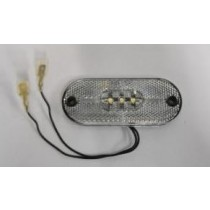 Clear LED Front Marker Light Plant-On
