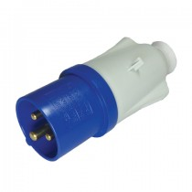 Mains 3 Pin Site Plug