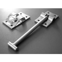 Door Retainer - Tbar & Catchplate - Zinc