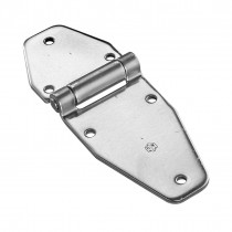 Six Hole Flat Hinge