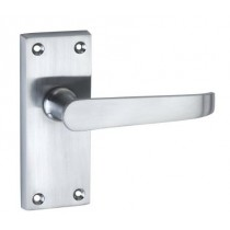 Chrome Victorian Lever Latch