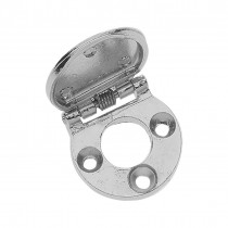 Key Hole Cover - Chrome