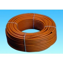 Orange Rubber Gas Hose
