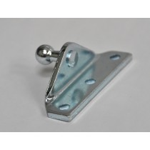 Angled Attachment Plate For Gas Stay - 3 Hole