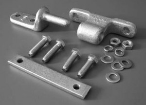 Assembly Hinge & Fixings