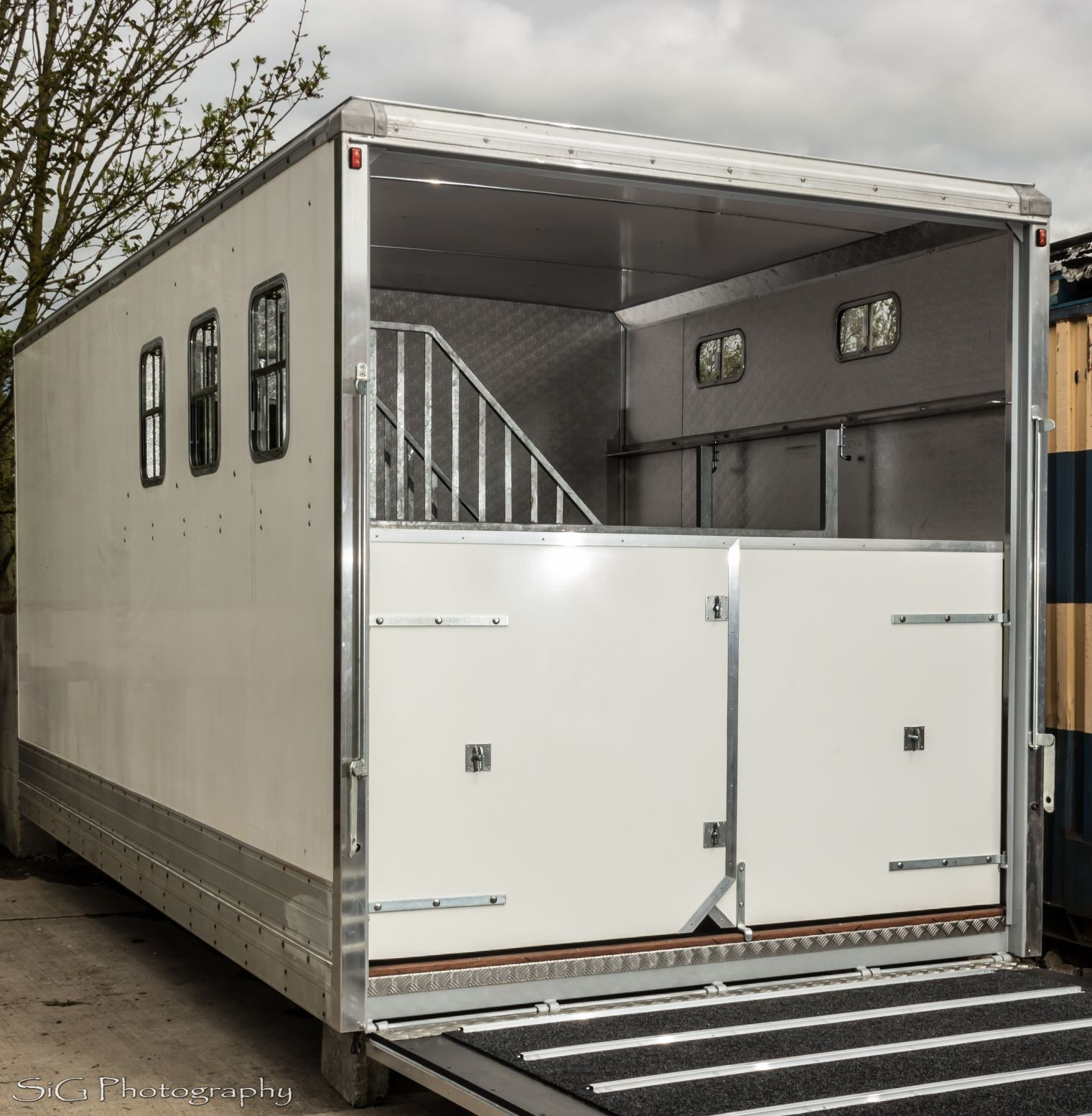 GRP Box Conversion AJ Horseboxes